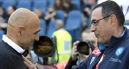 Napoli e Inter si dividono i punti scudetto