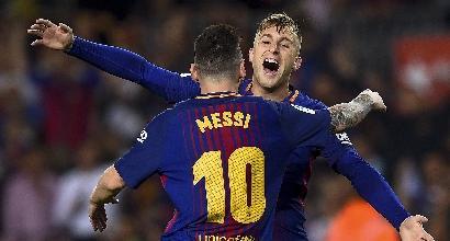 Liga: il Barcellona piega il Malaga e allunga in classifica