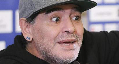 """Argentina, Maradona: """"Icardi? Una vergogna. Higuain è 10 volte più forte"""""""
