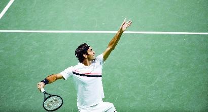 Tennis, Federer batte Seppi: va in finale a Rotterdam