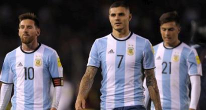 Russia 2018, i preconvocati dell'Argentina: c'è anche Icardi con Dybala e Higuain