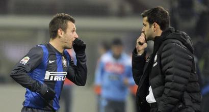 """Cassano: """"Picchiai Stramaccioni, non mi pento perché è una brutta persona"""". L'allenatore: """"Sei un bugiardo"""""""