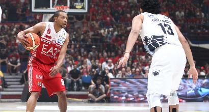 Basket: Milano si porta sul 3-2