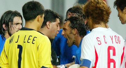 18 giugno 2002 - Corea del Sud-Italia 2-1: lo scandalo Byron Moreno e l'eliminazione degli azzurri