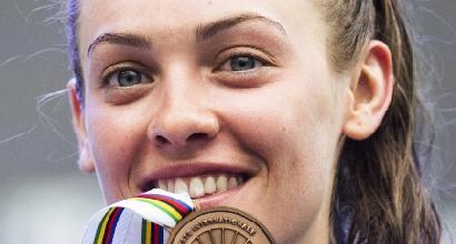 Ciclismo, medaglia di bronzo per la Paternoster agli Europei