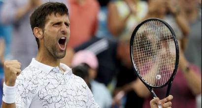 Tennis: Cincinnati non è più tabù per Djokovic