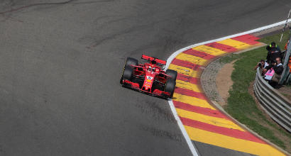 F1 Belgio, dominio Ferrari in FP3