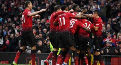 Premier League: l'Arsenal strapazza il Chelsea di Sarri, Liverpool e Manchester United vincono col brivido