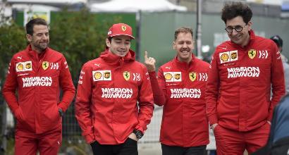 """Vettel: """"Troviamo il bilanciamento"""". Leclerc: """"Adoro Baku"""""""
