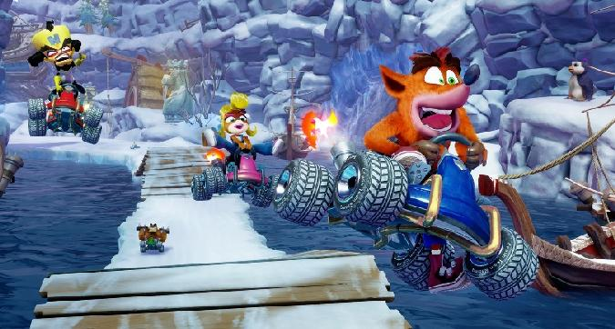 Crash Team Racing Nitro-Fueled: per un'estate a tutto gas