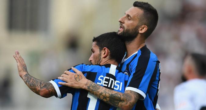 Sensi più Brozovic, piedi buoni e gol: esordio convincente dell'Inter di Conte