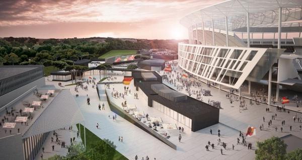 Roma, presentato il progetto per il nuovo stadio
