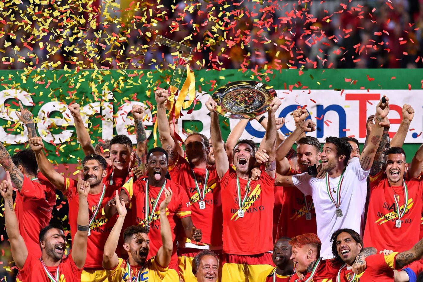 Benevento in festa: storica Serie A