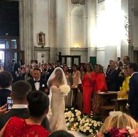 Il matrimonio di Alvaro Morata