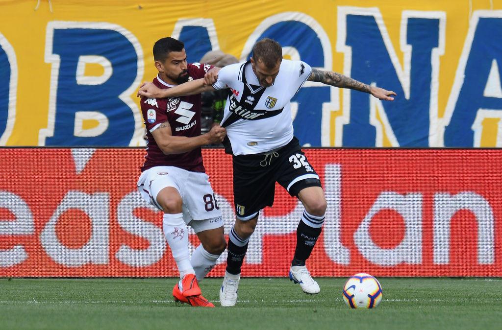 Parma-Torino: la fotostoria del match