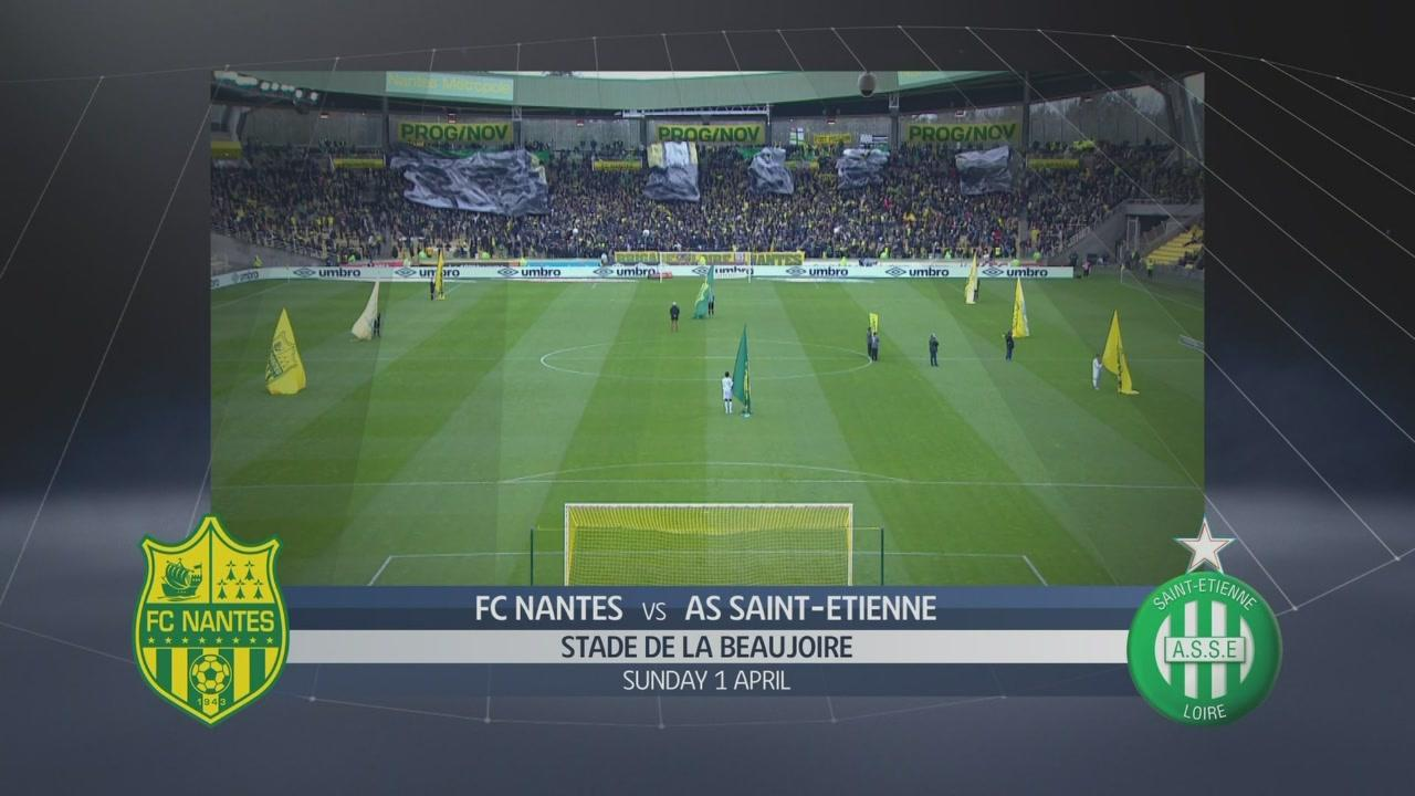 nantes saint etienne 0 3 sportmediaset. Black Bedroom Furniture Sets. Home Design Ideas