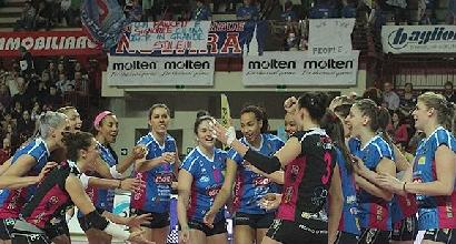 Volley, Champions: Novara batte Lubiana e resta in corsa