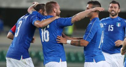 Amichevoli, Italia-Finlandia 2-0: decidono Candreva e De Rossi