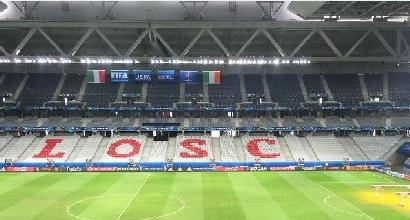 Euro 2016, Lille: Italia-Irlanda si giocherà col tetto chiuso