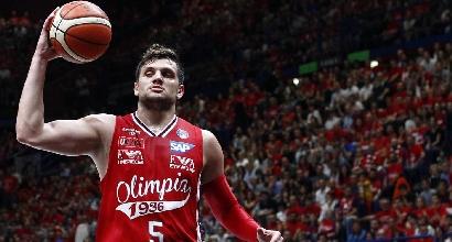 Basket: Alessandro Gentile resta all'Olimpia Milano