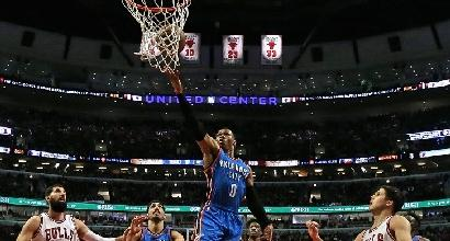 Nba: Westbrook stende i Bulls, Davis trascina i Pelicans