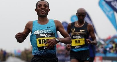Atletica, Maratona Dubai: niente record del mondo, Bekele si ritira