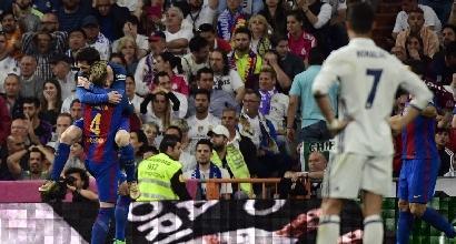Messi gela il Bernabeu e riapre la Liga: il Barcellona batte 3-2 il Real Madrid