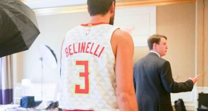 """Belinelli: """"Voglio i playoff con Atlanta"""""""