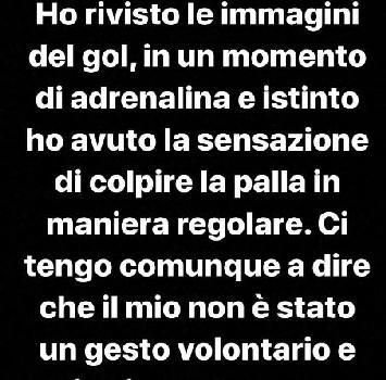 """Serie A, Cutrone rischia due giornate di squalifica. Si difende:""""Sono onesto"""""""