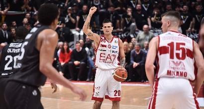 basket, Serie A: Milano e Venezia continuano a viaggiare insieme in testa