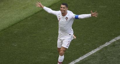 Portogallo, Ronaldo a segno in ogni modo: ecco perché nessuno è come lui