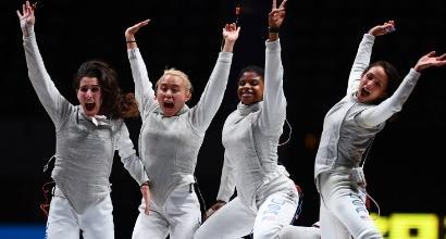 Scherma, Mondiali: azzurre d'argento nel fioretto a squadre