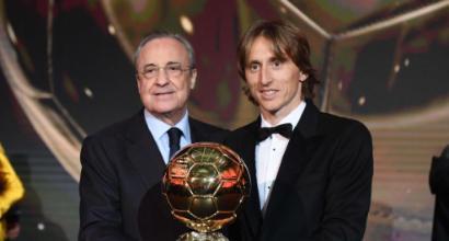 """Modric: """"Questo Pallone d'oro insegna che il calcio non è solo gol, gol, gol"""""""
