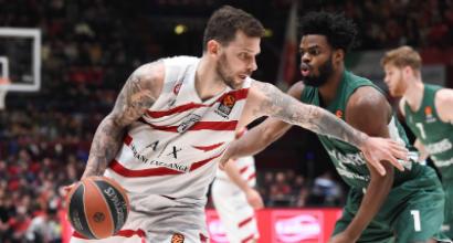 Basket, Eurolega: Milano affonda lo Zalgiris e torna alla vittoria