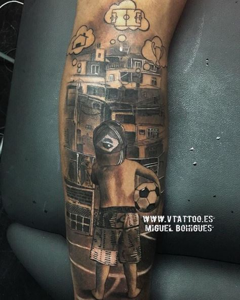 Barcellona, l'ultimo tattoo di Neymar