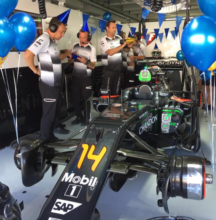 F1, Alonso fa 35 anni