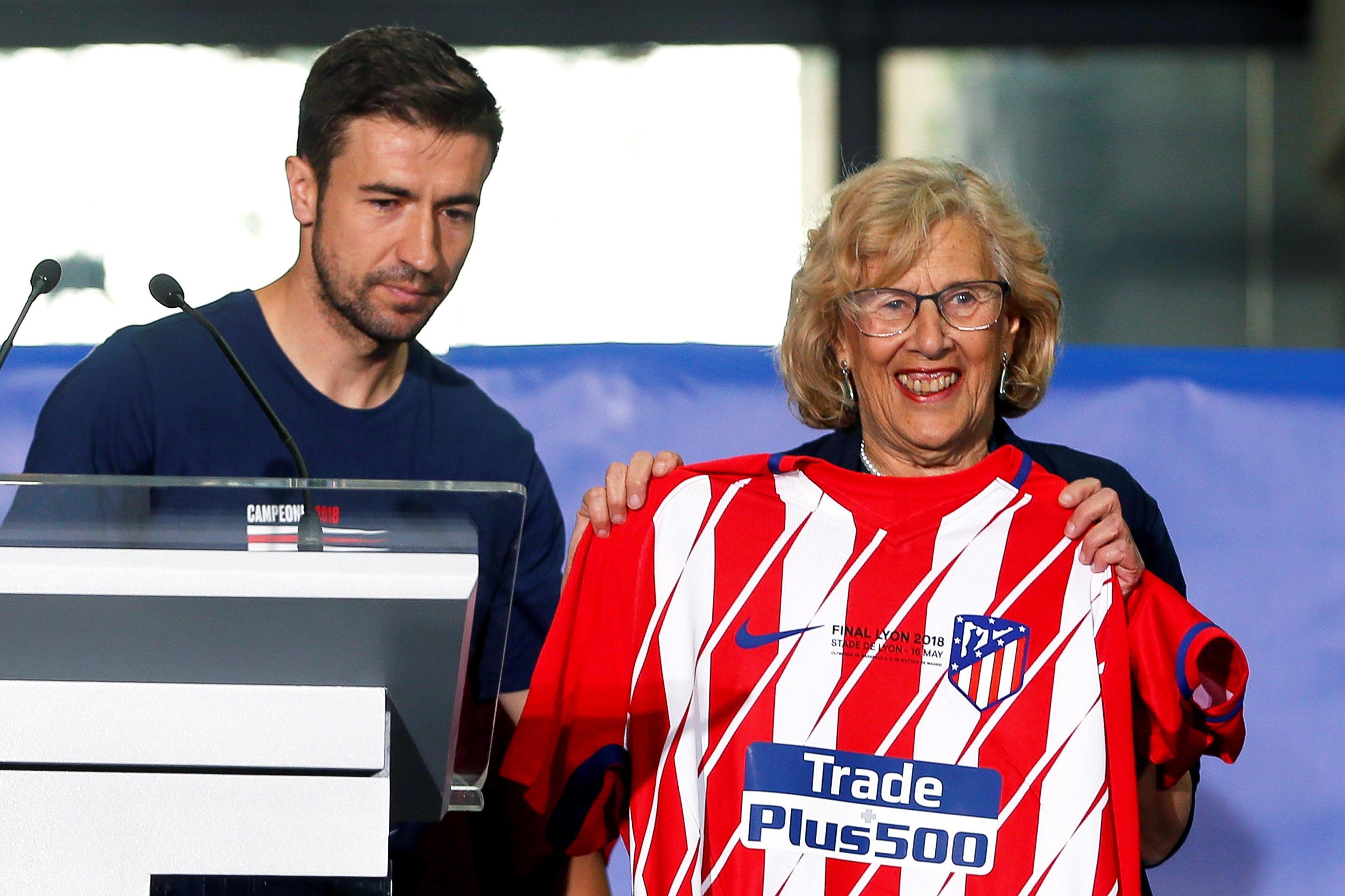 L'Atletico festeggia la conquista dell'Europa League