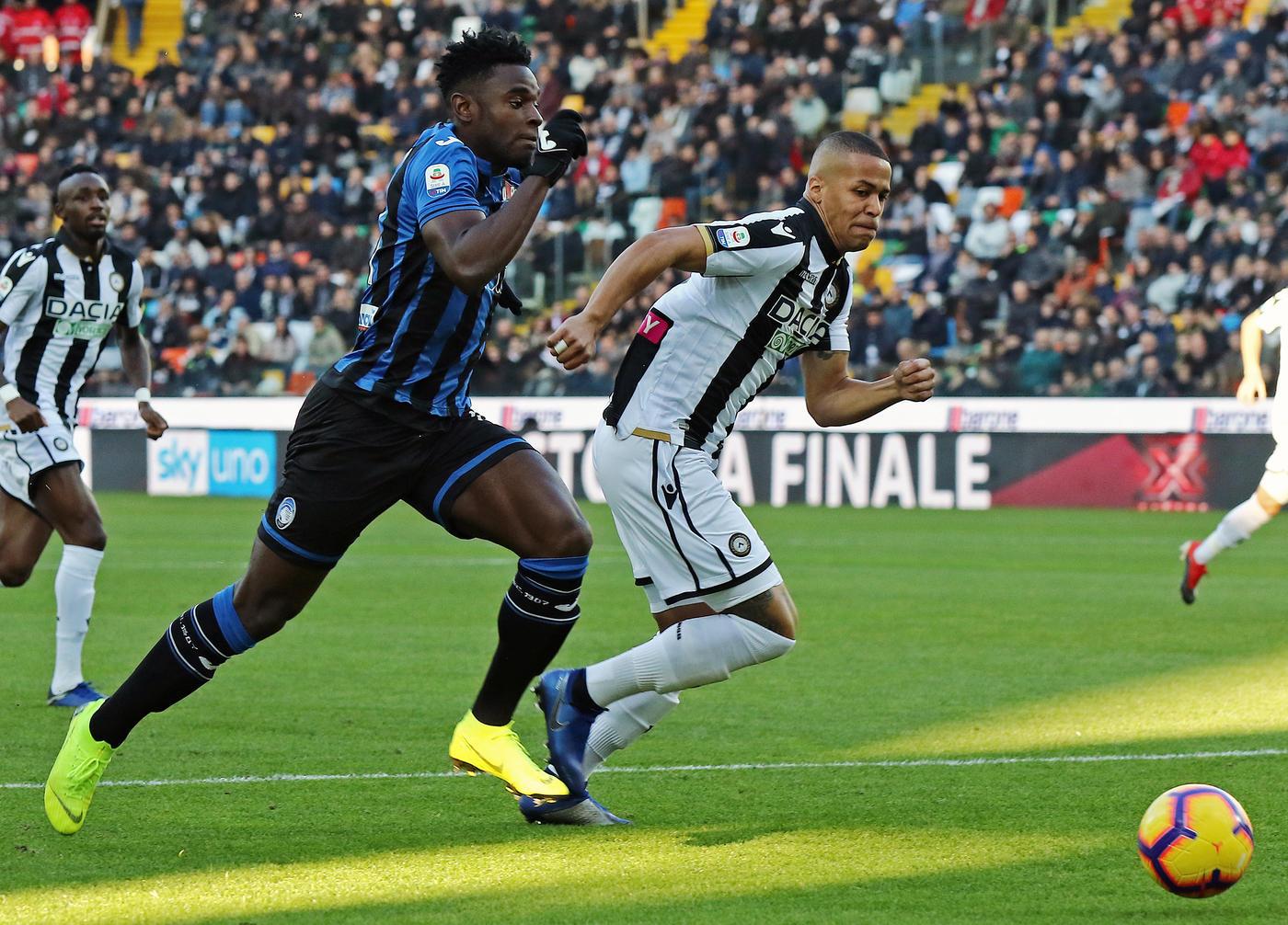L'Atalanta vince 3-1 alla Dacia Arena