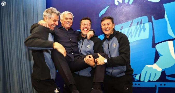 Mou torna sulla panchina dell'Inter: che festa a Londra!