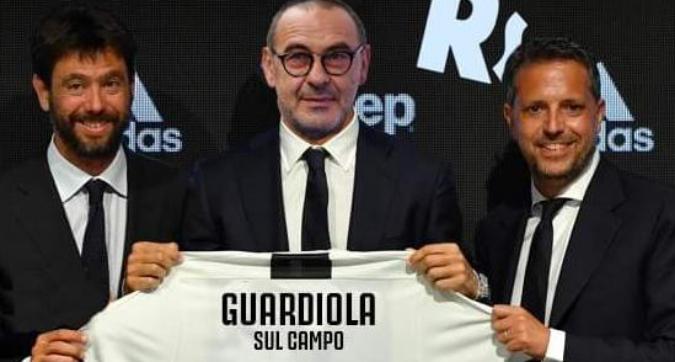 Sarri alla Juventus: il web si scatena