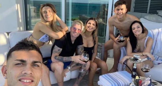Dybala, 'vacanza argentina' ai Caraibi