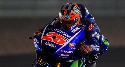 MotoGP, test Qatar: Vinales è un fulmine, Dovizioso secondo