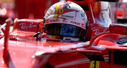 "F1, Vettel: ""Oggi insalata mista"""