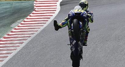 MotoGP Libere3 Brno: dominio Honda; Rossi buon 3°, Ducati ok