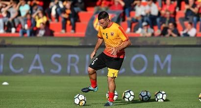 Benevento, un difensore positivo all'antidoping