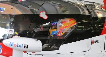 Alonso correrà la 24 Ore di LeMans con la Toyota, ma è una bufala<br />