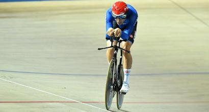 Ciclismo, Mondiali su pista: Ganna oro nell'inseguimento