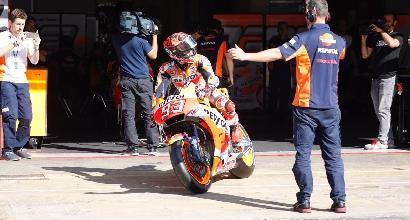 MotoGP, la Yamaha ritrova il sorriso nei test di Barcellona