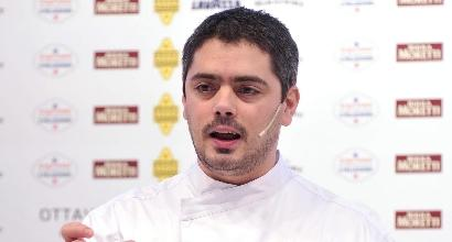 Lo chef Matteo Baronetto, Lapresse