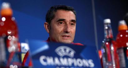 """Barcellona, Valverde: """"L'Inter non si arrende mai, senza Messi sarà una sfida"""""""